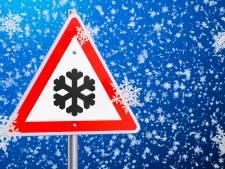Winters weer en sneeuw zorgen zaterdagavond voor gladde wegen in Brabant