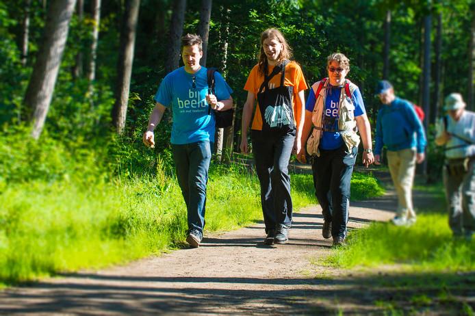 De Apeldoornse Vierdaagse staat bekend om haar 'groene' routes.