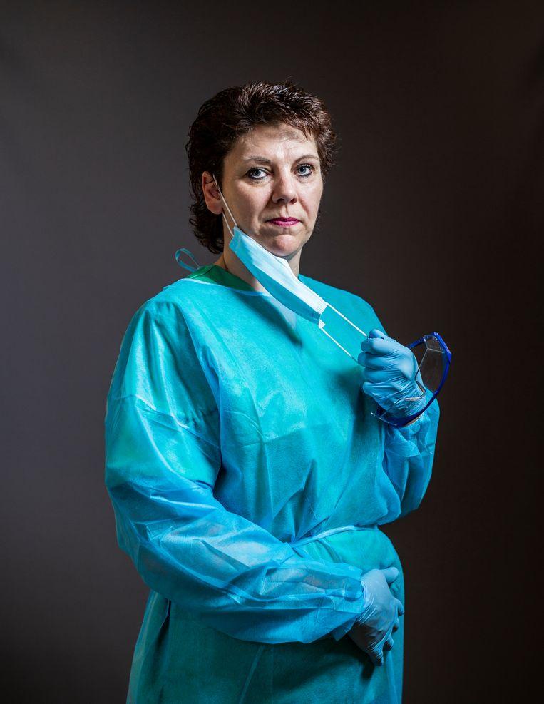 Verzorgster Bianca de Graaf: 'Nu vraagt die vrouw me steeds: zijn ze mij vergeten uit te nodigen voor de begrafenis?' Beeld Jiri Büller