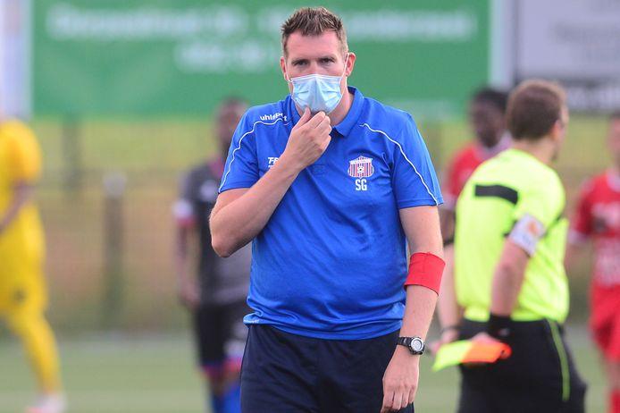 Trainer Stijn Geys en zijn spelers kunnen nu toewerken richting de echte start van de voorbereiding op 14 juli.