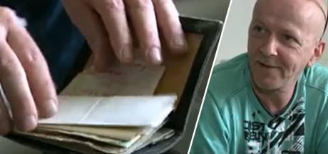 """Pascal retrouve son portefeuille perdu après 36 ans: """"C'est comme une bouteille à la mer qui revient"""""""