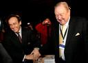 Lennart Johansson (r) hier aan de zijde van Michel Platini