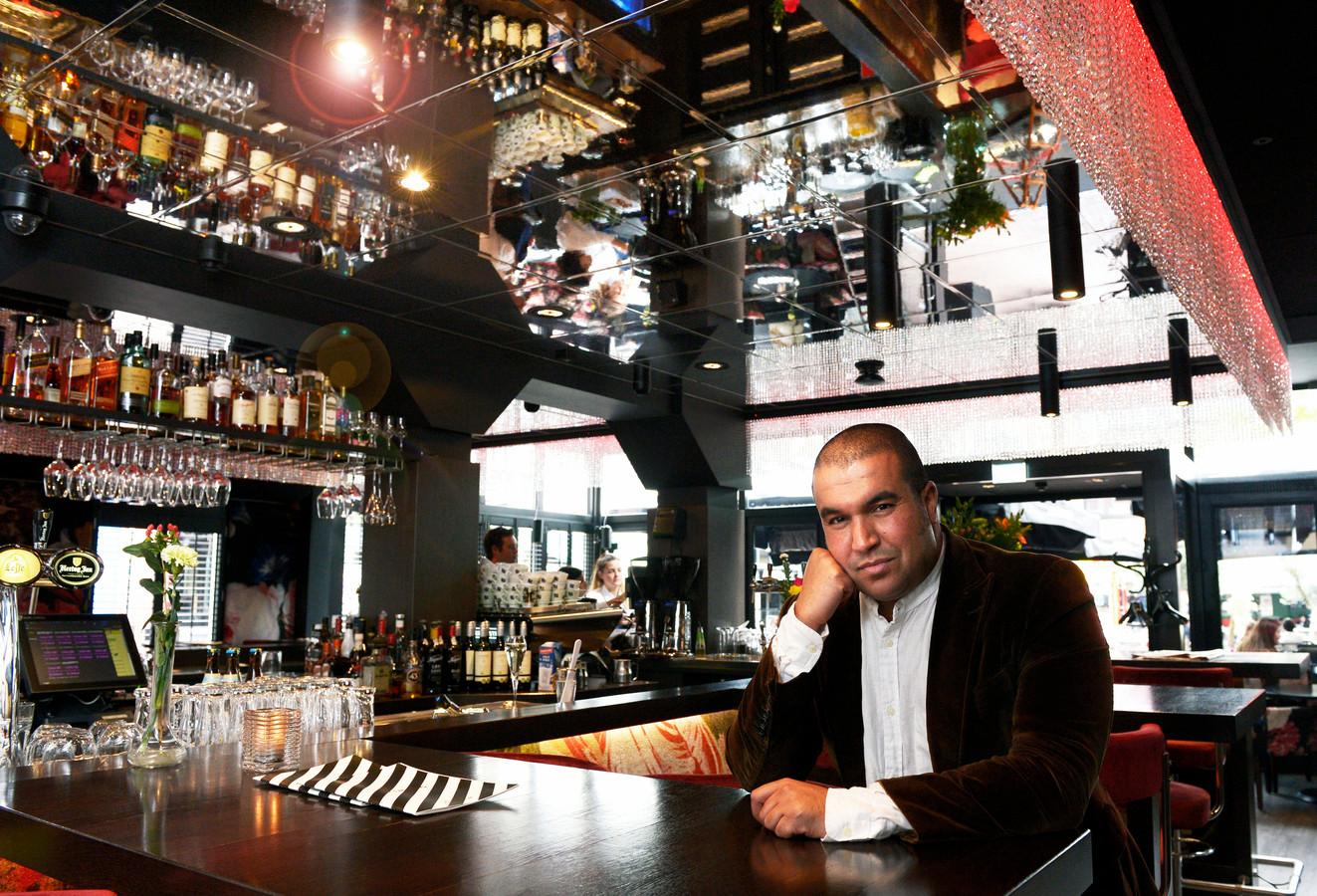 Khalid Oubaha in Café Arnhem.