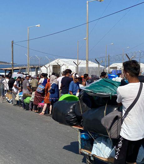 Grieken dwingen vluchtelingen naar nieuw kamp: 'Zodra ik binnen ben, zit ik vast'