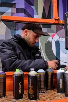 Werk van vroegere graffitispuiters nu te zien in voormalige glasfabriek in Schiedam