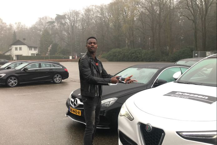 Nicolas Isimat-Mirin in zijn PSV-tijd. Altijd goedgemutst.