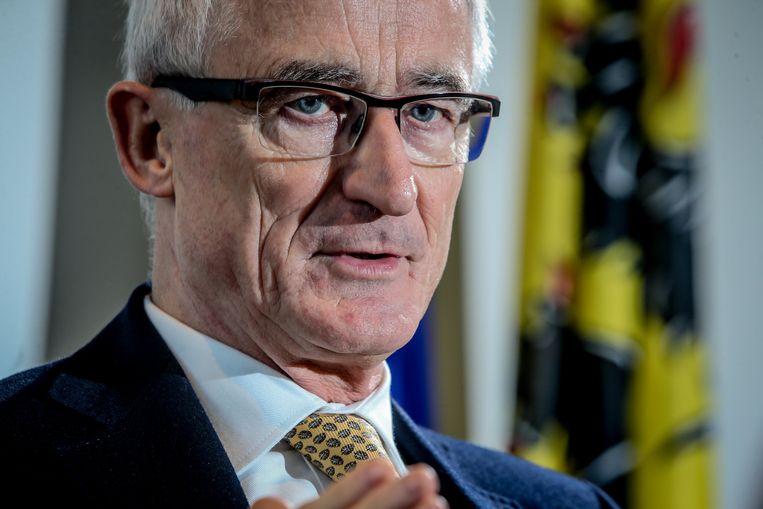 Geert Bourgeois (N-VA), Minister-president van de Vlaamse Regering.