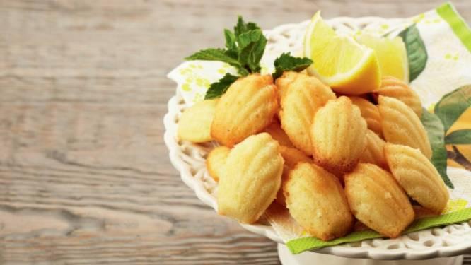 Bak madeleines met citroenzeste