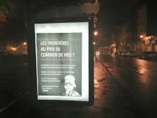 """Le comité """"Justice4Mawda"""" détourne un millier d'espaces publicitaires"""