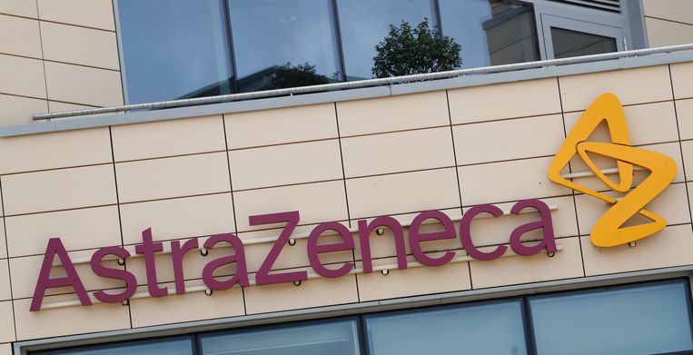 Het AstraZeneca-kantoor in Cambridge. Beeld AP