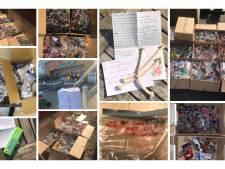 17 duizend vuurwerkbrillen ingezameld voor Isala Zwolle en Meppel: 'Mensen deden er lieve kaartjes bij'