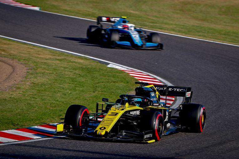 Daniel Ricciardo van Renault. Beeld EPA