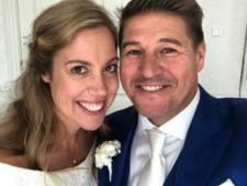 Martijn Krabbé getrouwd met Deborah: 'Lang leve de liefde'