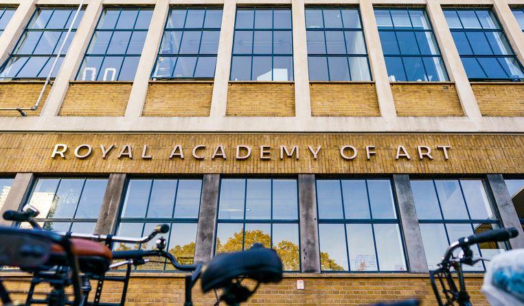 Koninklijke Academie van Beeldende Kunsten (KABK) in Den Haag. Beeld Freek van den Bergh / de Volkskrant