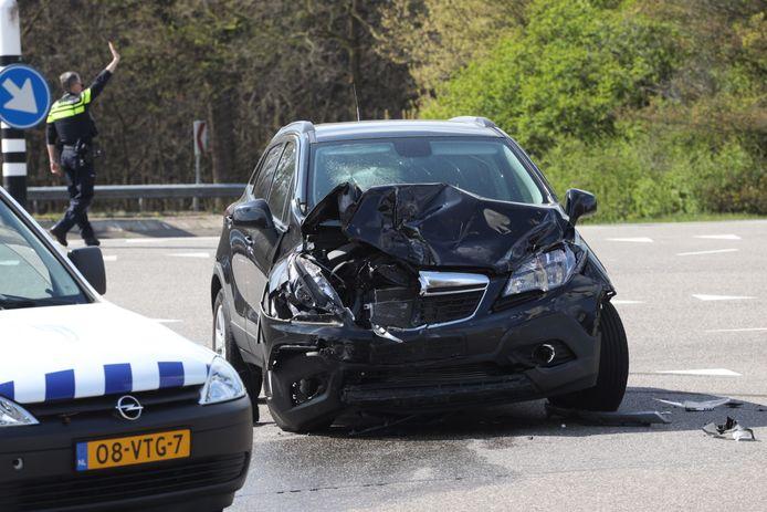 Ongeluk Boxtel, vrouw gewond