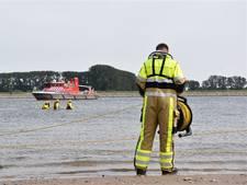 Urker team vindt lichaam verdronken zwemmer in twee uur