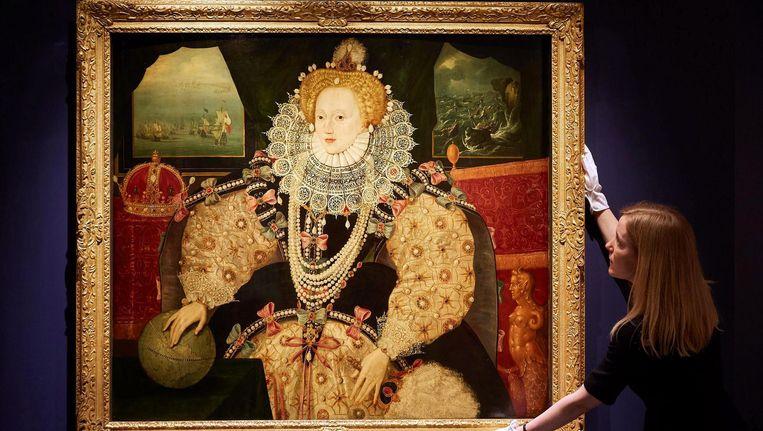 Het door Art Fund aangekochte Armada-portret van Queen Elizabeth I uit 1590. Beeld