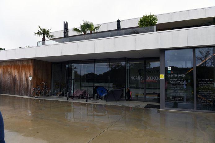 De fietsbieb vind je  in het Sven Nys Cycling Center in Baal (Tremelo).