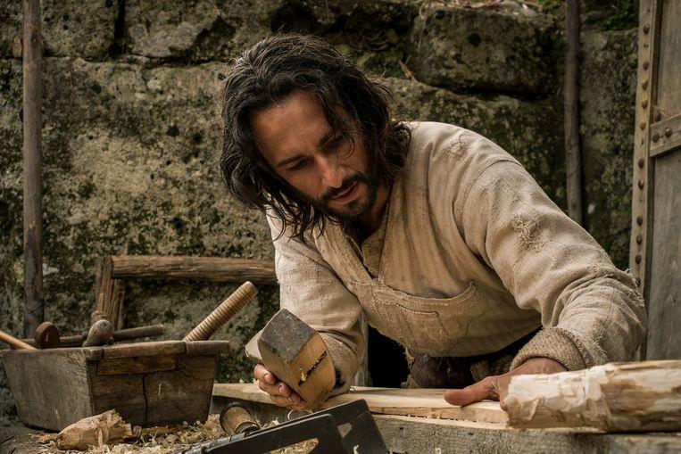 Rodrigo Santoro als Jezus in 'Ben Hur'. Beeld AP