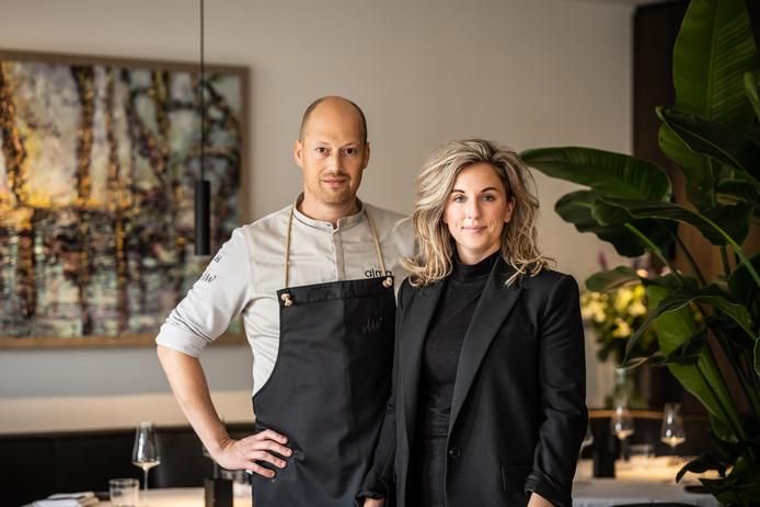 Wouter van Laarhoven en Malou Hagenaars, het paar achter Alma in Oisterwijk