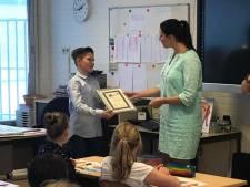 Len (10) uit Kaatsheuvel onderscheiden: 'Ik heb meteen mijn brandweerpak aangetrokken'