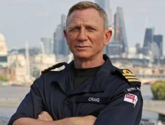 Daniel Craig krijgt zelfde rank bij de marine als James Bond
