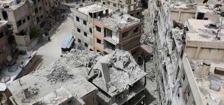 OPCW: beveiligers VN beschoten in Douma