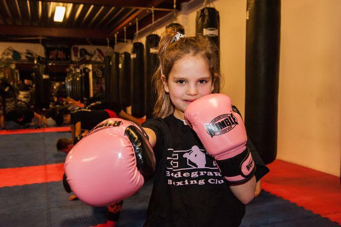 "Mimi Grgic is met 6 jaar het jongste lid: ,, Trappen is het allerleukste"""