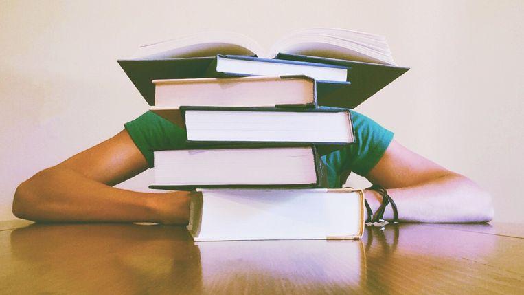 De studenten zitten midden de examenperiode, maar de meesten toonden begrip voor de onvoorziene omstandigheden.