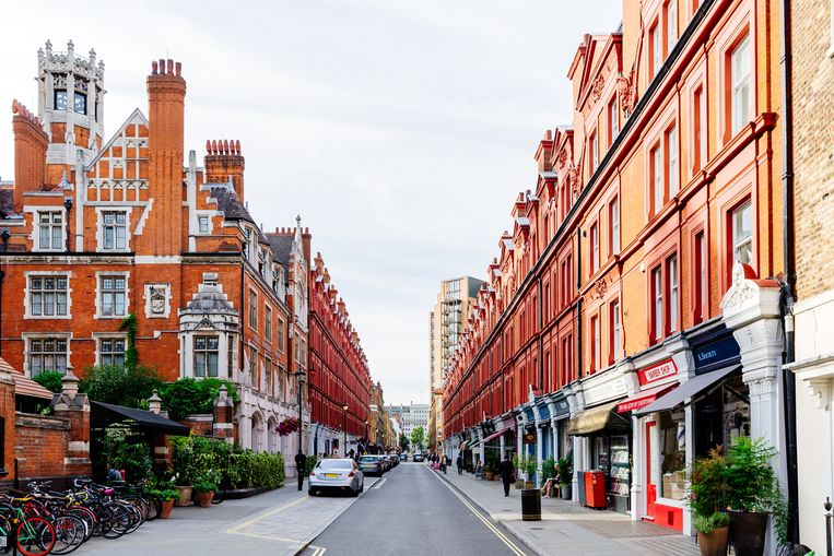 In een jaar tijd trokken honderdduizenden mensen uit Londen weg. Beeld Getty Images