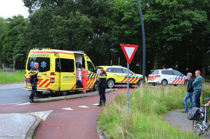 De man is met spoed naar het ziekenhuis in Nijmegen gebracht.
