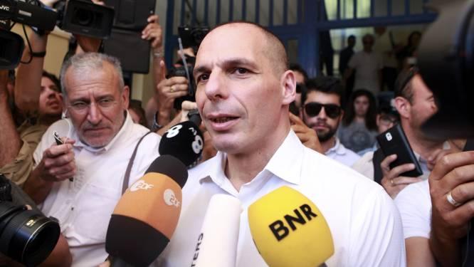 Griekse minister van Financiën Varoufakis stapt op