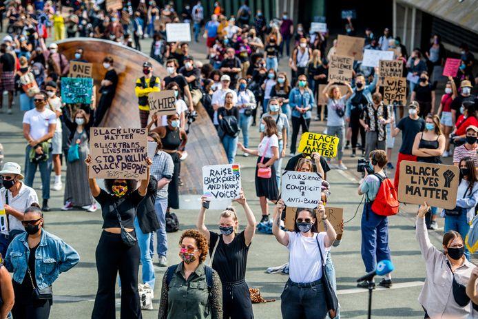 Begin deze week was de Black Lives Matter-demonstratie in Rotterdam. Daar kwamen zoveel betogers op af dat het protest vroegtijdig moest worden afgebroken.