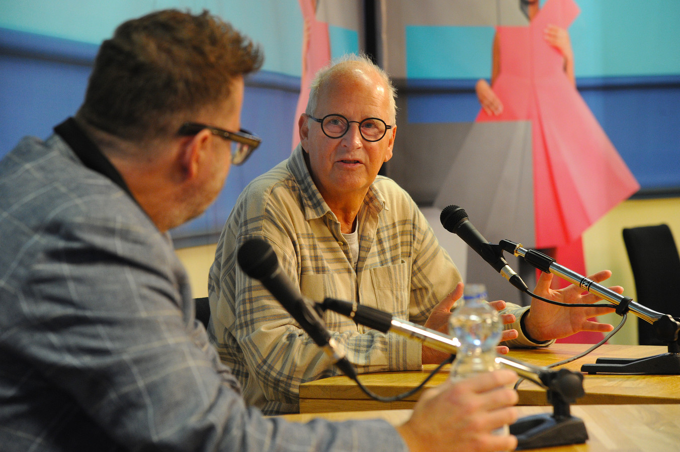 Martin Koolhoven in gesprek met Herman Koch.