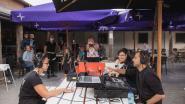 T Goed Geluk ontvangt één week na opening al Qmusic voor uitzending 'De Hotspotter'