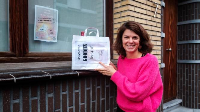 Lekker aperitieven én tegelijk patiënten met jongdementie ondersteunen: Annelies (40) verkoopt aperobags voor vzw De Toren