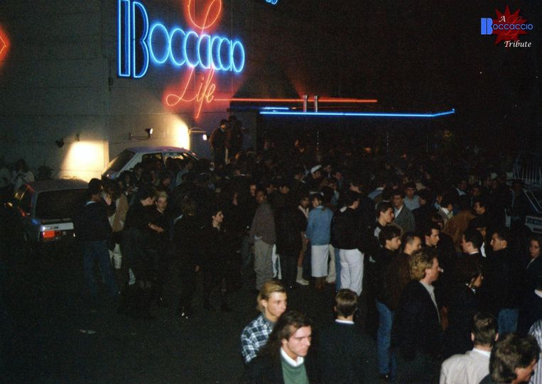 Archiefbeeld van de legendarische nachtclub Boccaccio. Beeld rv
