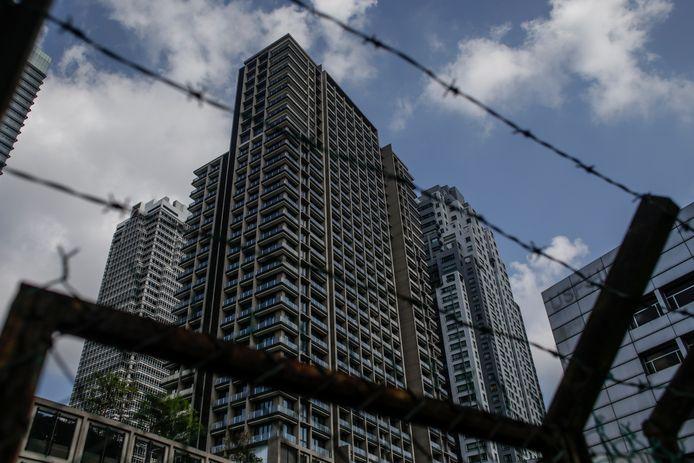 Het flatgebouw in de Maleisische hoofdstad Kuala Lumpur waar Ivana Smit dodelijk ten val kwam.