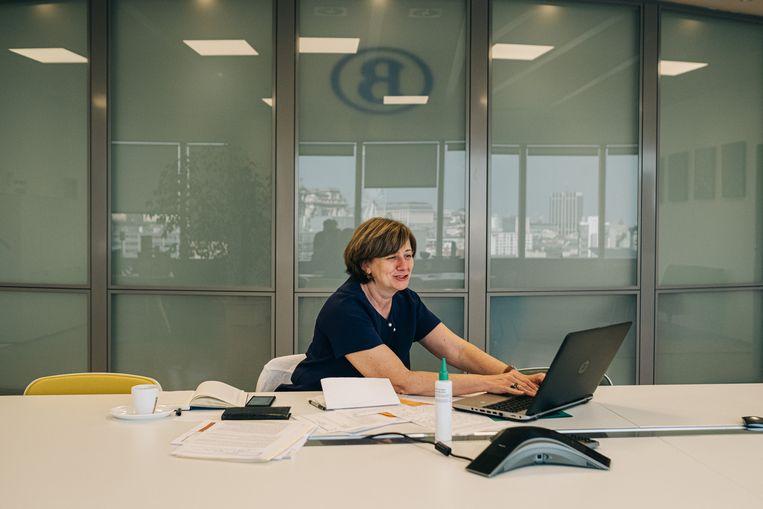 Sophie Dutordoir, CEO van de NMBS.  Beeld Wouter Van Vooren