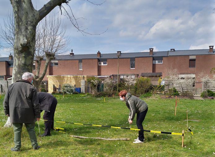 Enkele bewoners van de Sint-Antoniuswijk hebben zelf een bouwplan uitgetekend