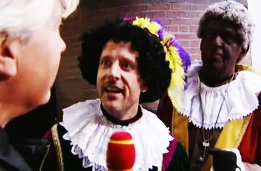 In het Sinterklaasjournaal van vorig jaar dook een Witte Piet op.