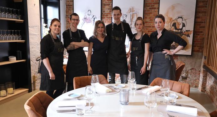Het team van State: Arianne van Grol, Tim Walraven, Joyce Oexeman, Michiel van Laere, Sarah Wauters en Marie Paping (vlnr).