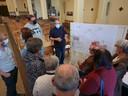 De plannen voor de turnzaal in de Sint-Stevenskerk in Sint-Pieters-Leeuw werden vandaag voorgesteld.