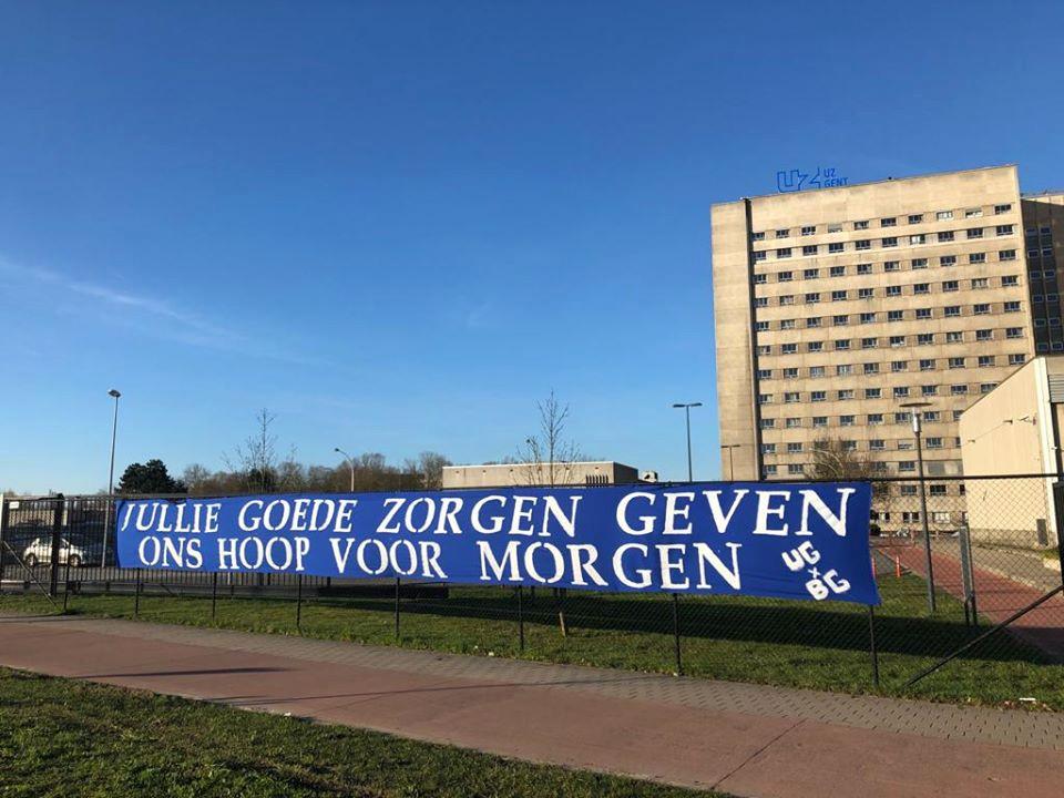 Alle steun is welkom in het UZ Gent.