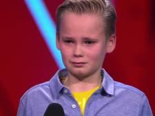 Ruim 1,6 miljoen kijkers zien Ali B The Voice Kids-kandidaat Sam hart onder de riem steken