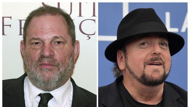 Harvey Weinstein en James Toback. Beeld afp