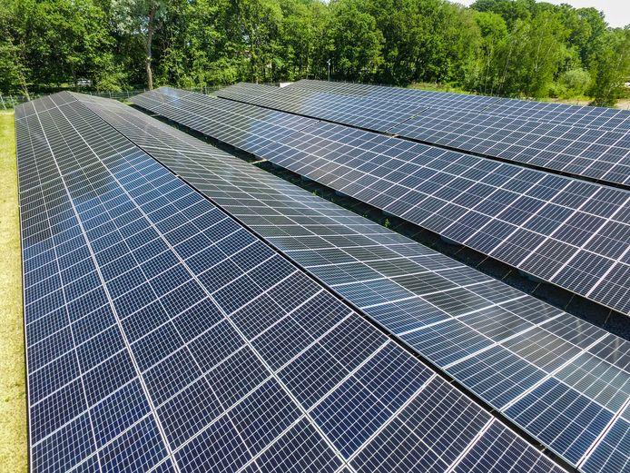 Lokale CDA-fracties pleiten voor zonnepanelen langs de A12, in plaats van windmolens.