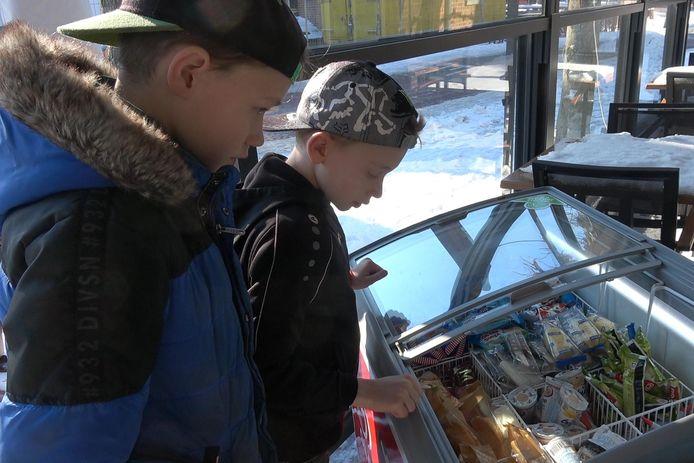 Gratis ijsjes te halen in Westerhoven