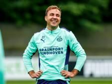 Een glimp van Mario Götze opvangen, blijft in Duitsland een goed verhaal: 'Ik ben overtuigd van het spelconcept bij PSV'