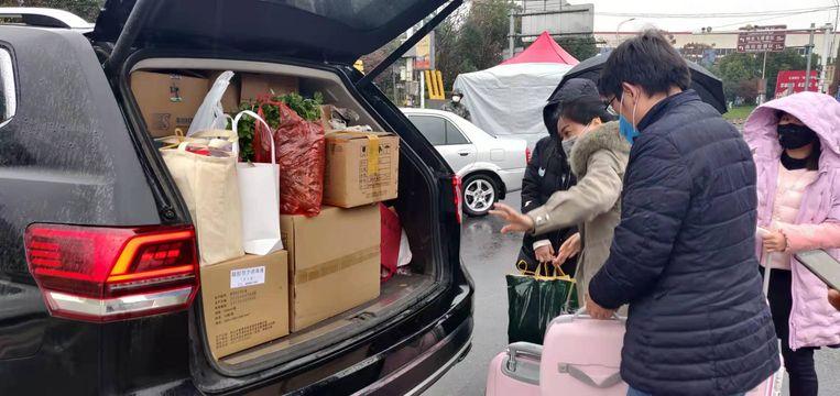 Auto van de man uit  Hangzhou. Beeld Eefje Rammeloo